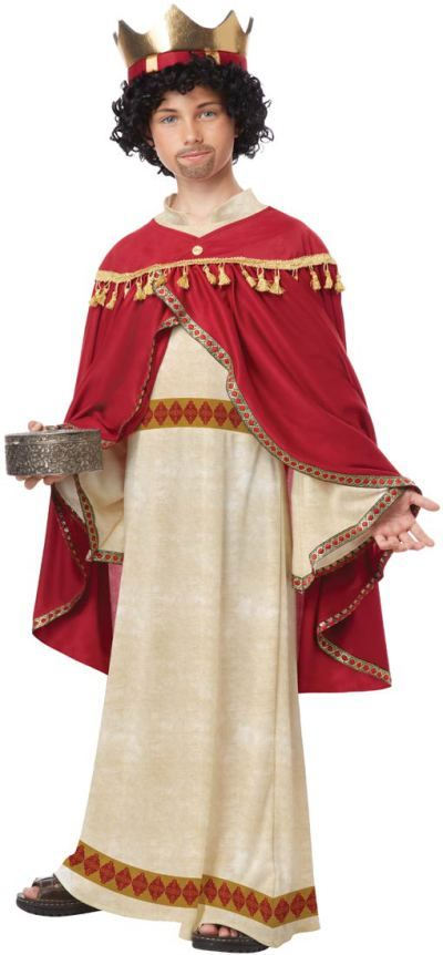 BALTHASAR THREE WISE MEN KING OF ARABIA ADULT BIBLICAL CHRISTMAS COSTUME