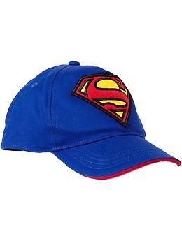 1c8d9031a1596 Superhero Baseball Caps for Baby