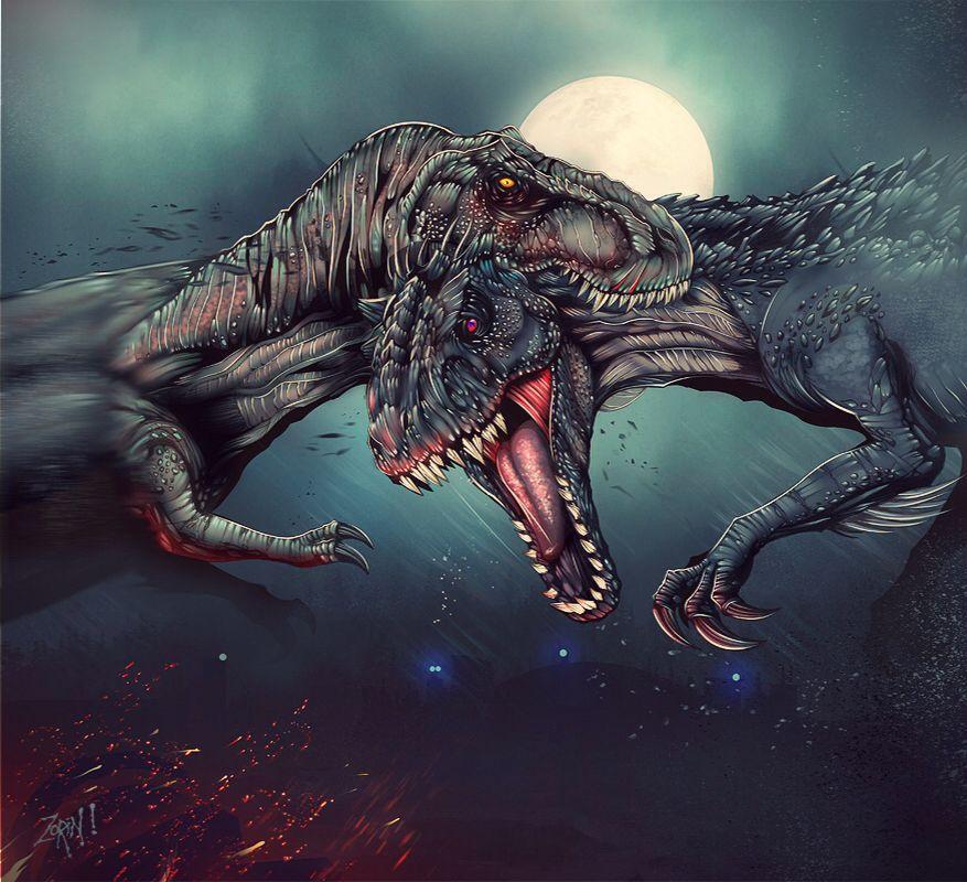JW Trex vs Indominus Rex Jurassic world t rex, Jurassic