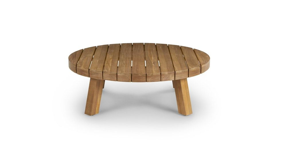 Koel Natural Coffee Table In 2020 Table Modern Coffee Tables