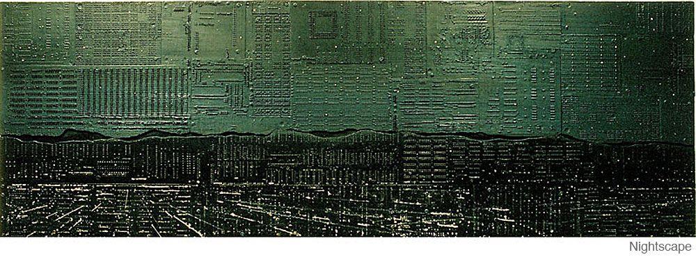 Amazing Circuit Board Artwork by Peter McFarlane | 1 Design Per Day ...