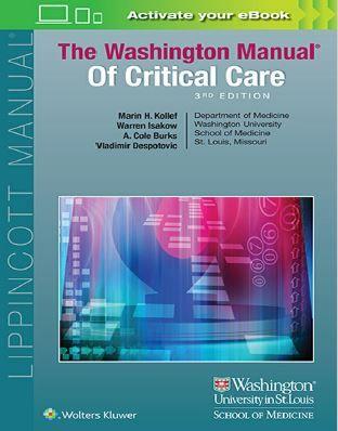 the washington manual of critical care 3rd edition pinterest rh pinterest com washington manual of critical care amazon washington manual of critical care amazon