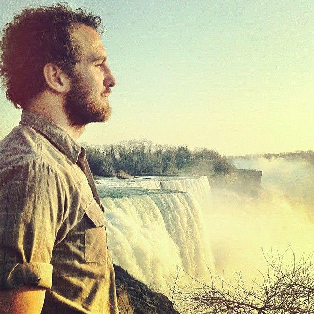 Darren King of MuteMath at Niagara Falls