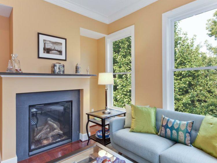 Bildergebnis für welche farbe passt zu caramel Möbeln Wände - welche farbe für wohnzimmer