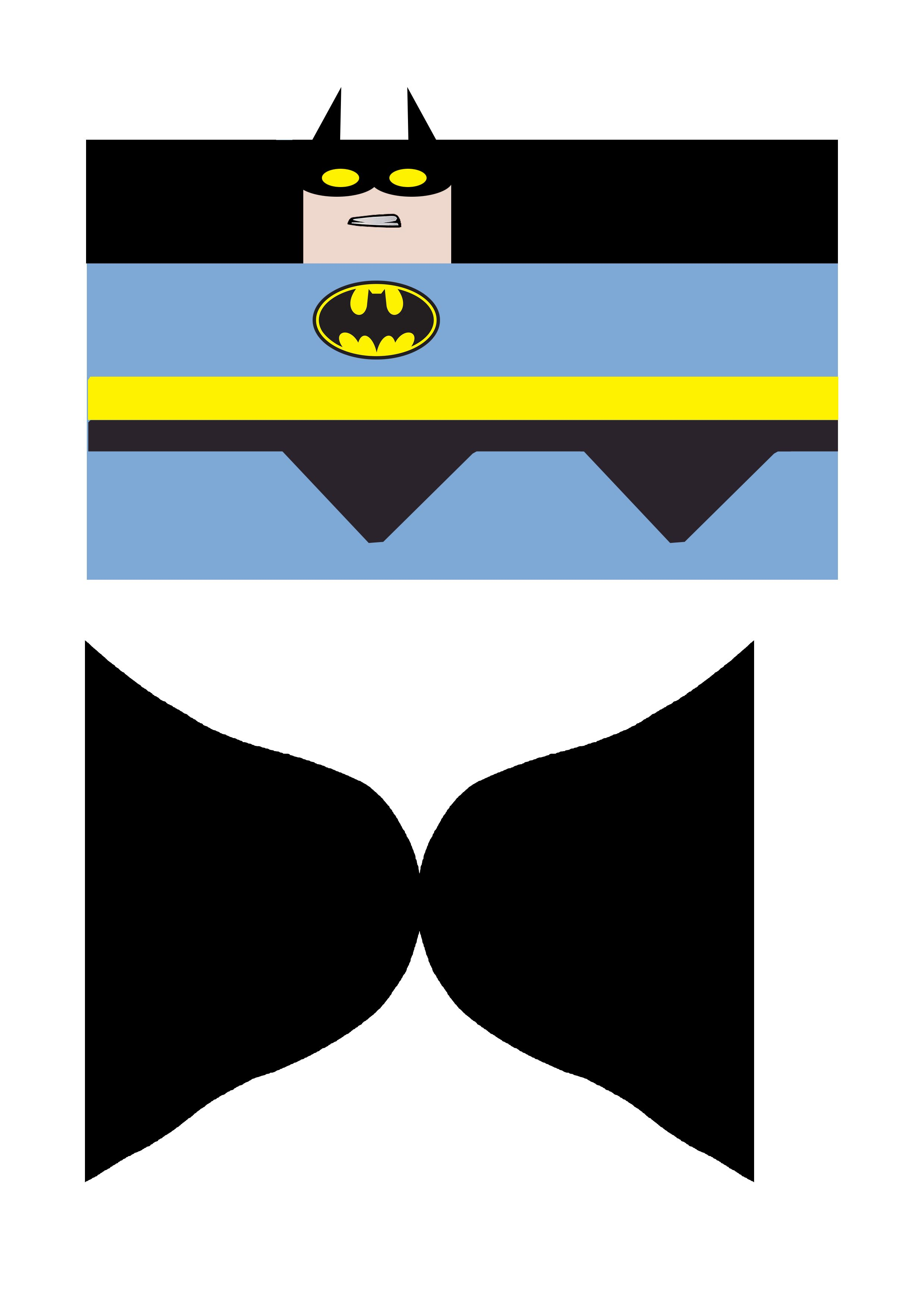Template For Toilet Roll Batman With Images