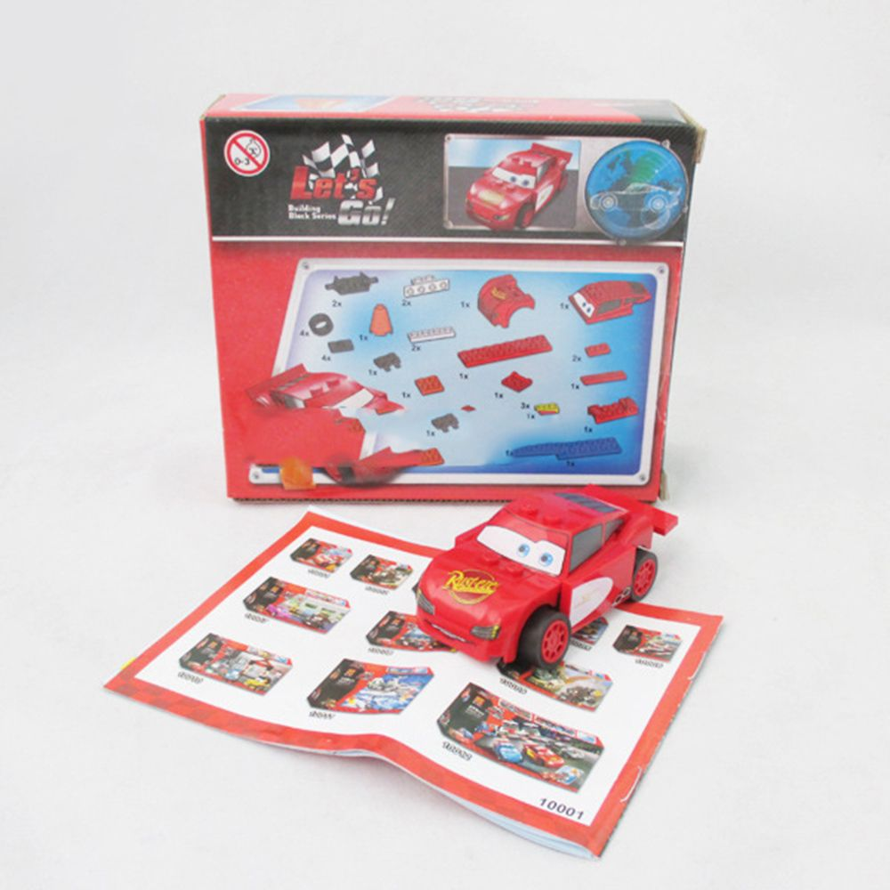 95 car toys  Bela  Cars Tokyo maintenance station Building Blocks For