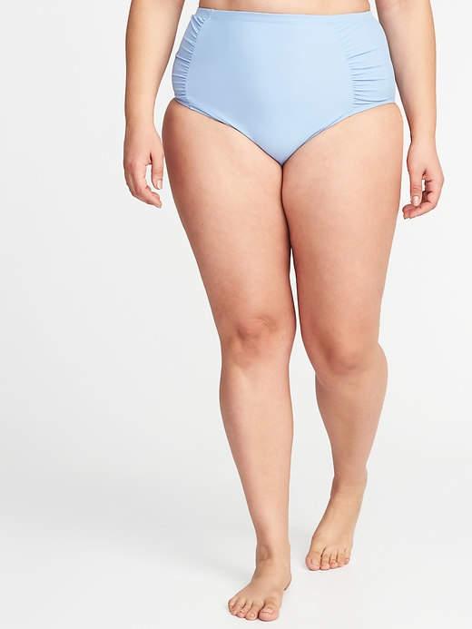 ced92c9abd6 High-Rise Secret-Slim Plus-Size Swim Bottoms   Figure Drawing   Plus ...