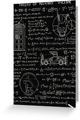 Theory Of Relativity : Spacetime Greeting Card & Postcard by theduc