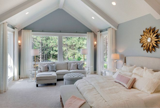 Bedroom Paint Ideas Benjamin Moore such a relaxing room! this would be a great place to read or knit