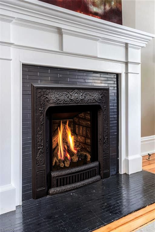 Fireplace Conversion To Gas