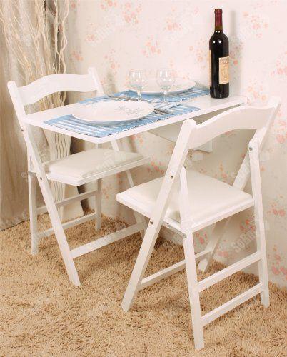 Sobuy fwt04 n table murale rabattable en bois table pour les enfants