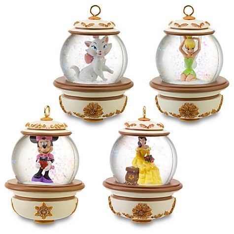 boules neige disney de no l 4 figurines l 39 int rieur. Black Bedroom Furniture Sets. Home Design Ideas