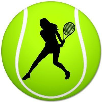 Womens Tennis Sport Ball Car Bumper Sticker 4 X 4 You Can Get More Details By Clicking On The Image Note It Is Af Tennis Posters Sports Balls Womens Tennis
