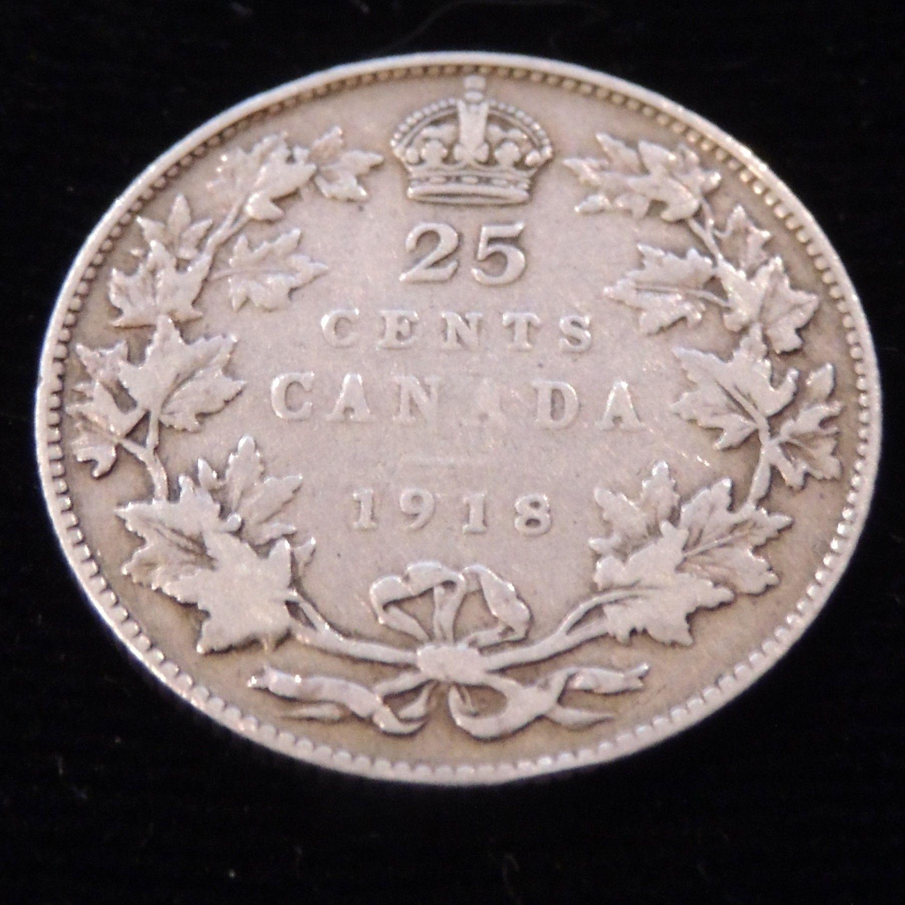 1920 Canada Silver Nickel Graded as Fine
