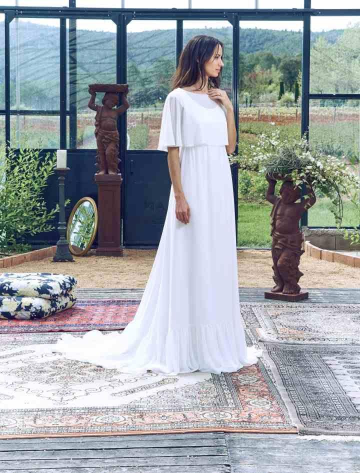 vestidos de novia sencillos: los 91 modelos más bonitos | sew lovely
