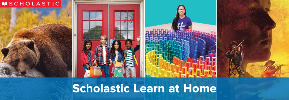 Scholastic Learn at Home 20 Days of Learning, Reading