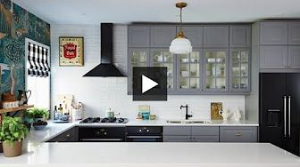 Real Ikea Kitchen real life ikea complete kitchen makeover - youtube | kitchen