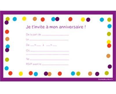 Modele De Carte D Anniversaire A Imprimer Carte Anniversaire A Imprimer Modele Carte Anniversaire Invitation Anniversaire