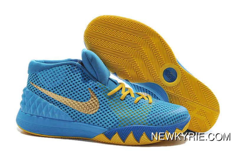 34f9d91dab4e 2019 的 Nike Kyrie 1 Basketball Shoes Cereal Blue Volt Cheap To Buy ...