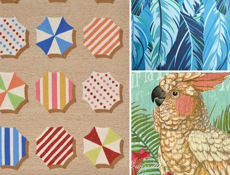 textile selection in marine style   подборка текстиля в морском стиле