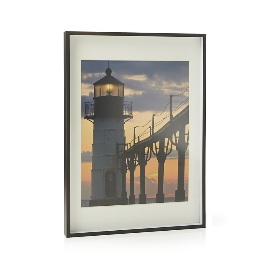 Benson 11x14 Picture Frame Crate And Barrel With Images 11x14 Picture Frame Frame Picture Frame Wall