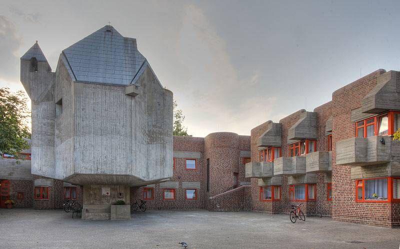 St Matthaus Dusseldorf Garath In Dusseldorf Architektur Architektur Architektur Konzept Architektur Dusseldorf