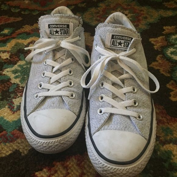 909545c766 Converse All-Star Padded around the ankles and thick tongue. Super cute on!  Do show signs of wear as seen in pictures but overall still in great shape.