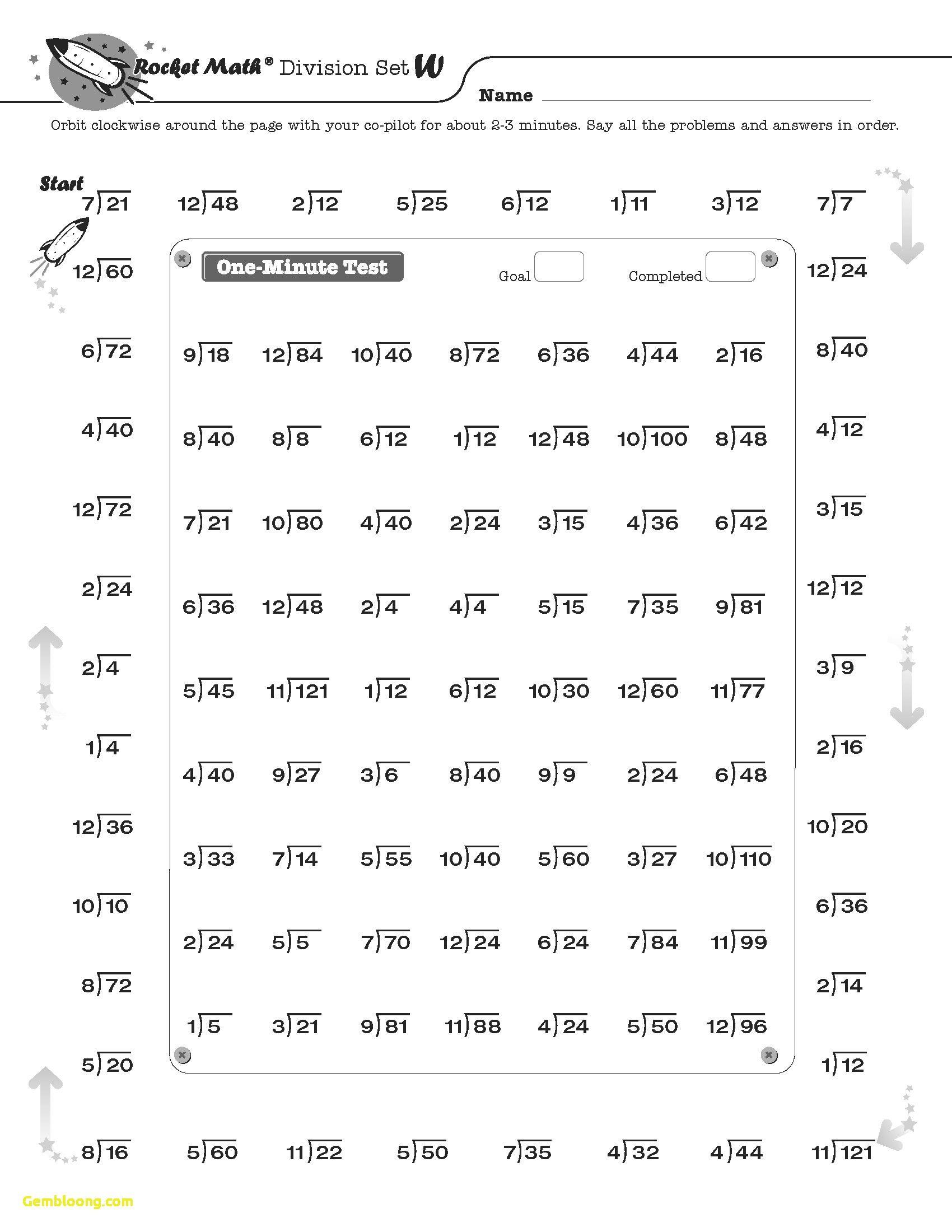 Readable Rocket Math Worksheets Addition Worksheet
