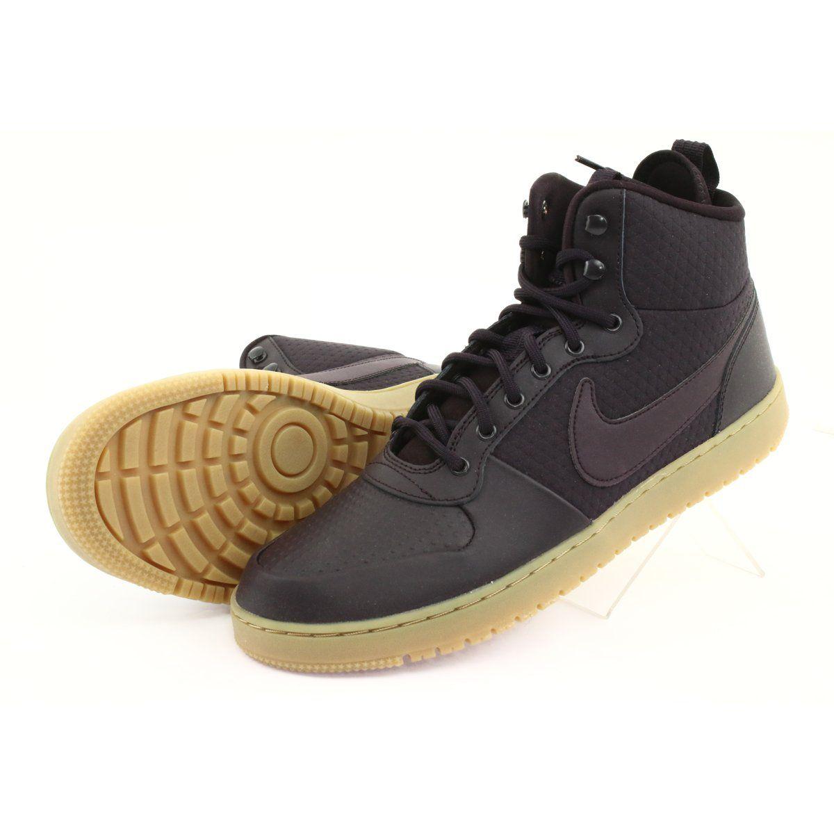 Buty Nike Ebernon Mid Winter M Aq8754 600 Wielokolorowe Nike High Top Sneakers Shoes