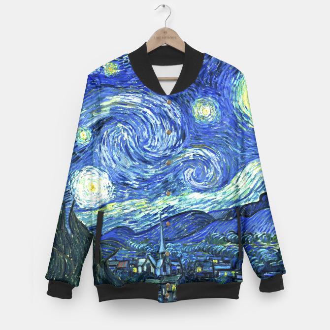 Starry Night baseball jacket