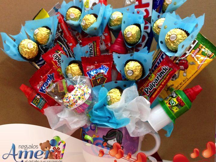 #Regalos Y #globoa Amer. Tel: 55246977 Tazon Para Cereal