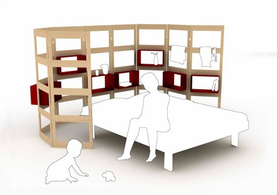 Genial Mother And Baby Modular Bedroom Furniture Design Parawall By Hanna Anne  Germany