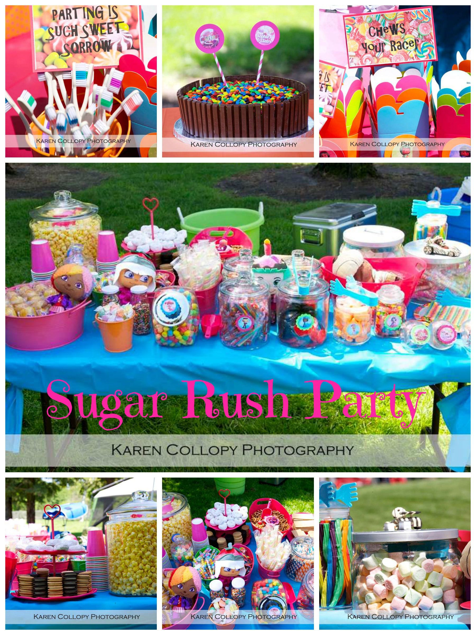 Sugar Rush Birthday Party Wreck It Ralph Party For Girls With