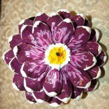 44+ Simple DIY Pine Cone Projects Ideas #pineconeflowers