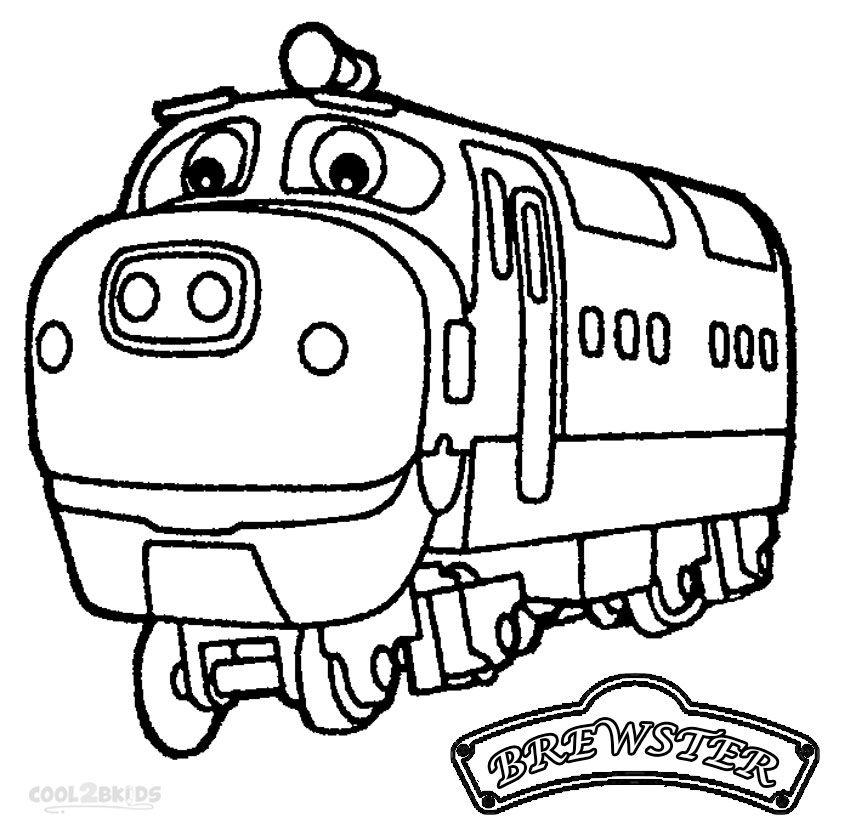 Printable Chuggington Coloring Pages For Kids Cool2bkids Train Coloring Pages Coloring Pages For Kids Chuggington