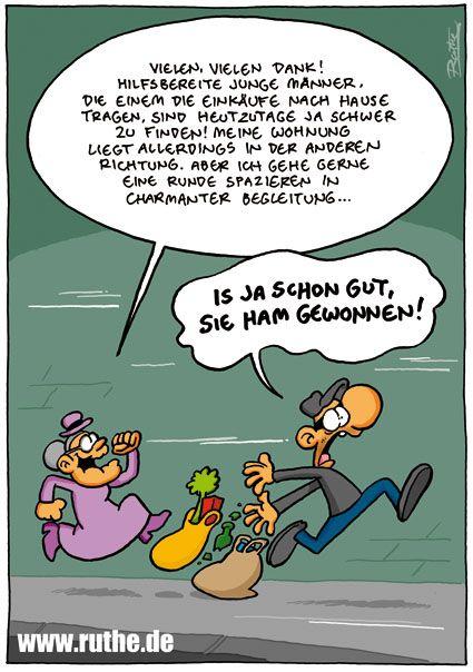 Cartoon Lustig Frau