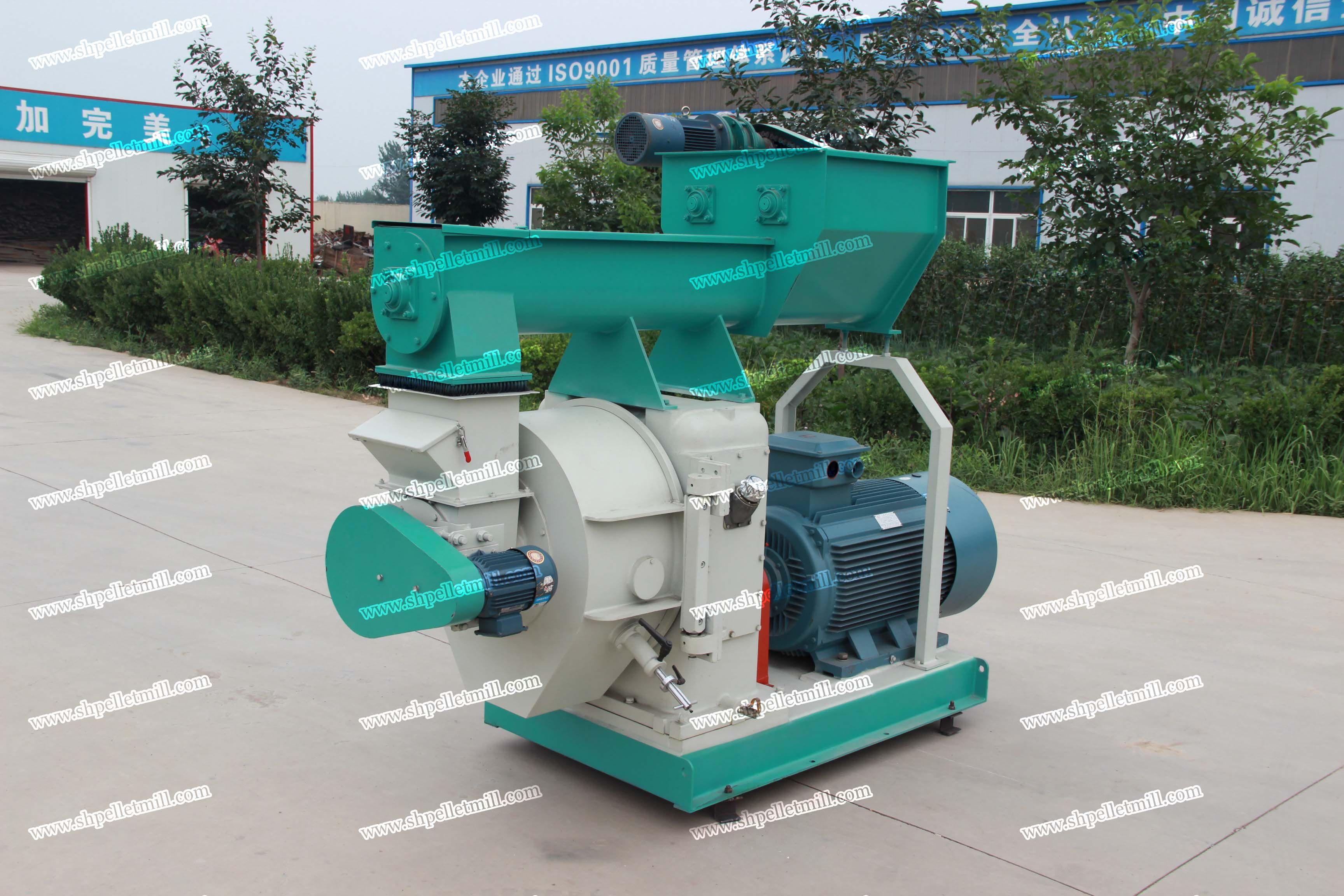 mzlh series biomass pellet machine process various of raw materials