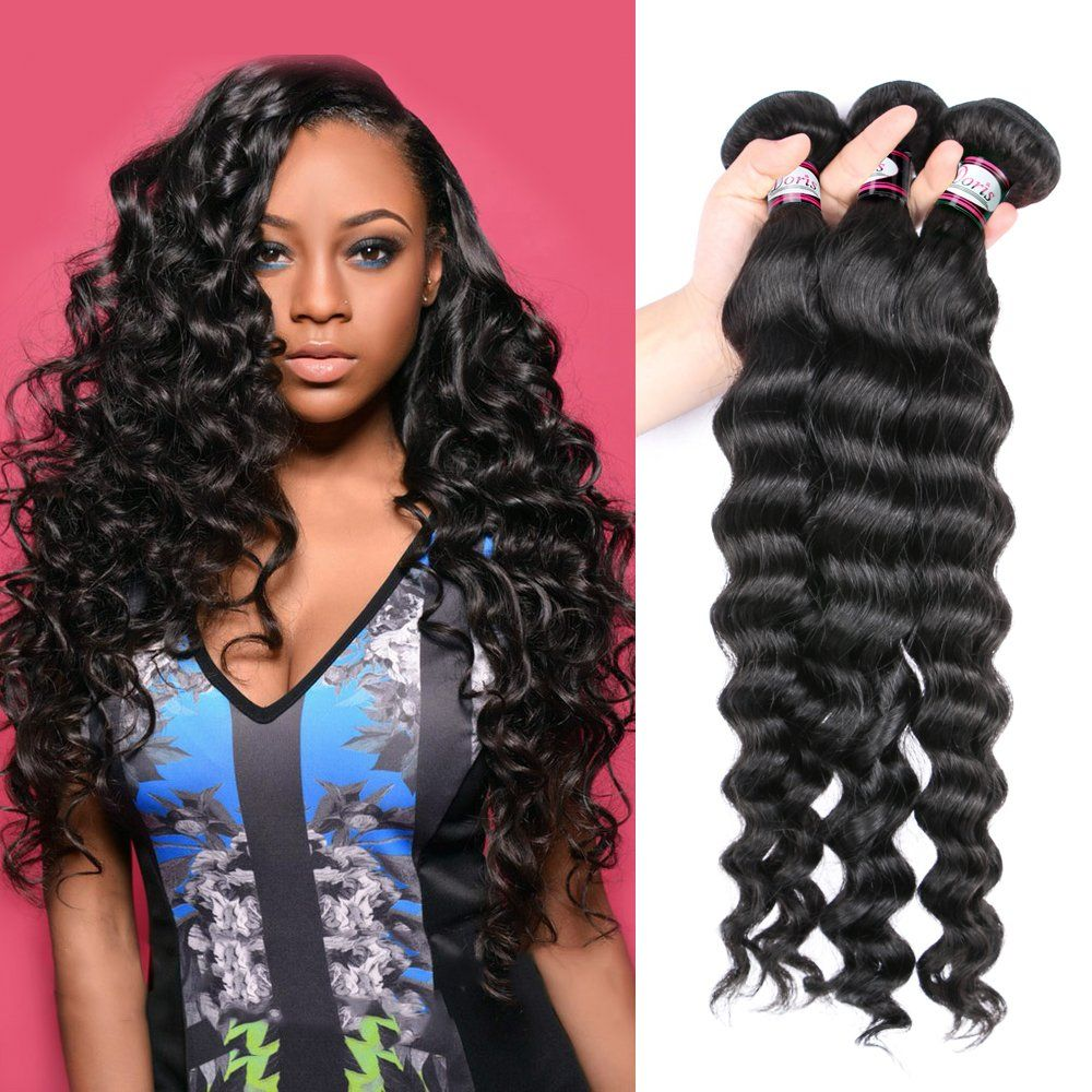 Brazilian 8 A Virgin Human Hair Weave Extension Cheap Wholesale Hair for  Women Natural Color More Wave 4 Bundle Deals (8 8 8 8inch) -- Awesome  products ... 8891c5eaed