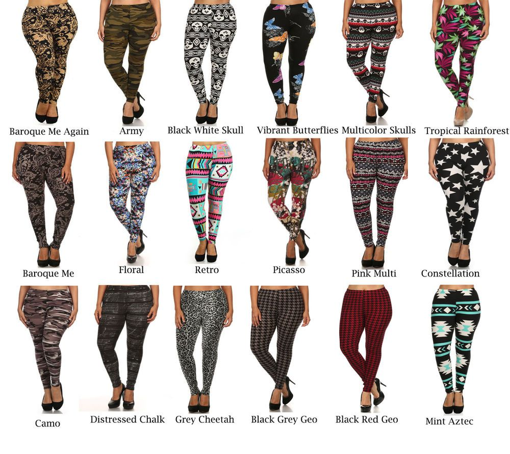 Ladies Tights Black With White Skull Design One Size