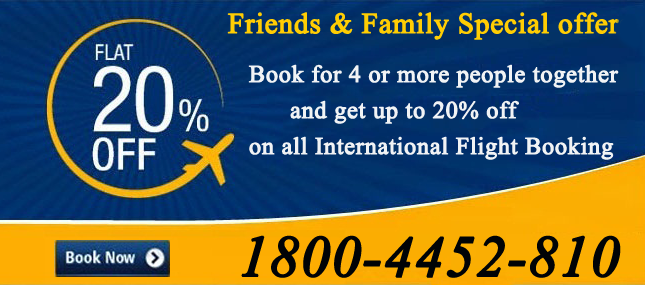 Friends & Family Special offer Book for 4 or more people