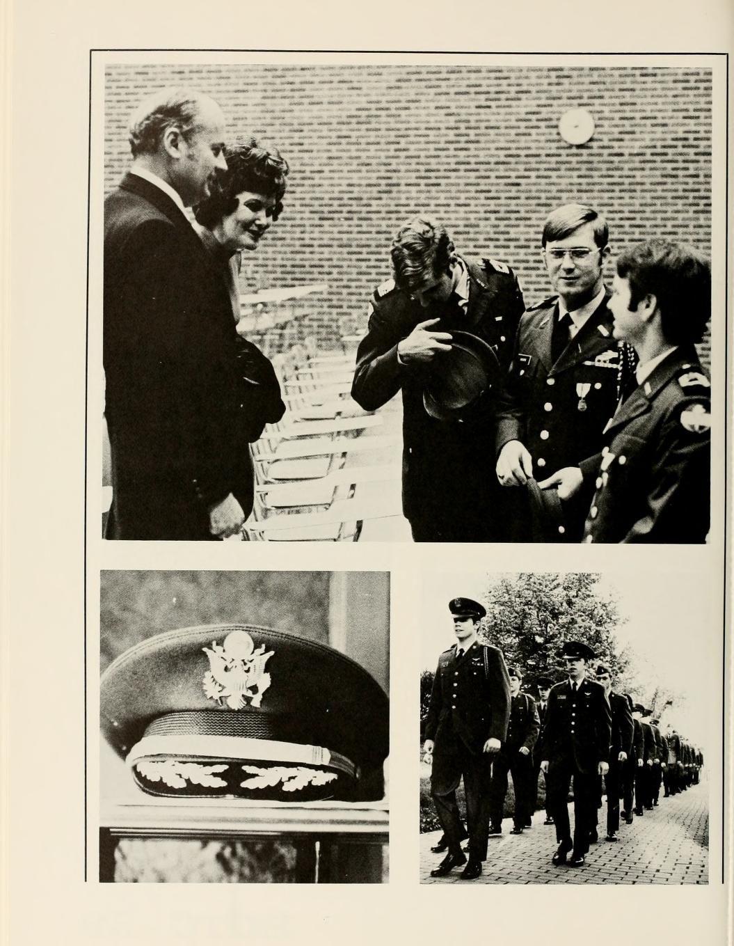 athena yearbook 1973 rotc at ohio u pinterest military photos