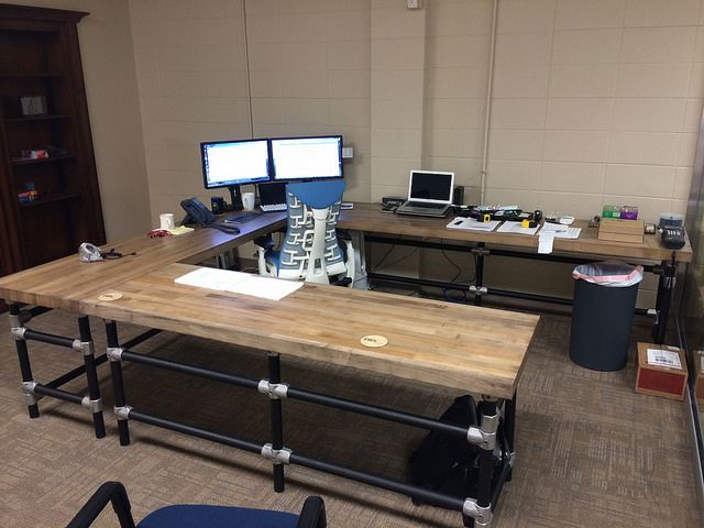 how to build office desk. Image Result For Pipe Furniture Desk How To Build Office 3