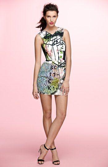 Mary Katrantzou Current/Elliott 'The Fortune Teller' Dress | Nordstrom made  ...