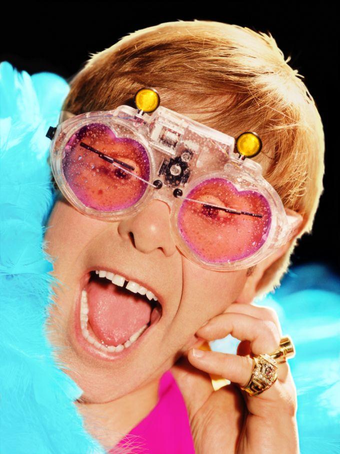 Elton John Weird Glasses 3