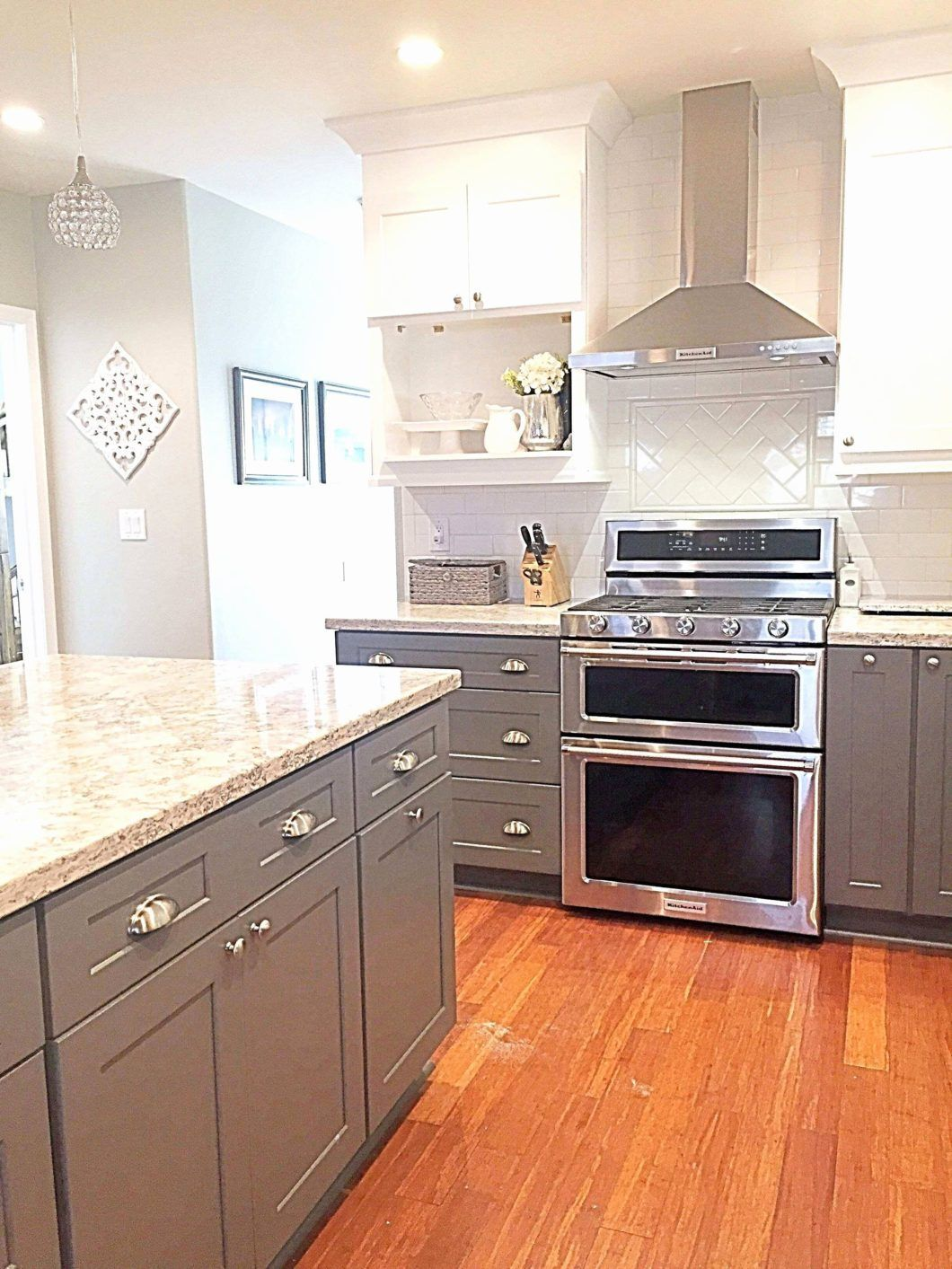 How Paint Your Kitchen Cabinets Without Sanding New Change Cabinet Color Updating Replacing Grey Kitchen Cabinets Kitchen Cabinet Design Kitchen Cabinet Trends
