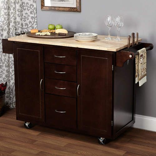 Harwick Kitchen Island with Wooden Top in 2018 Products