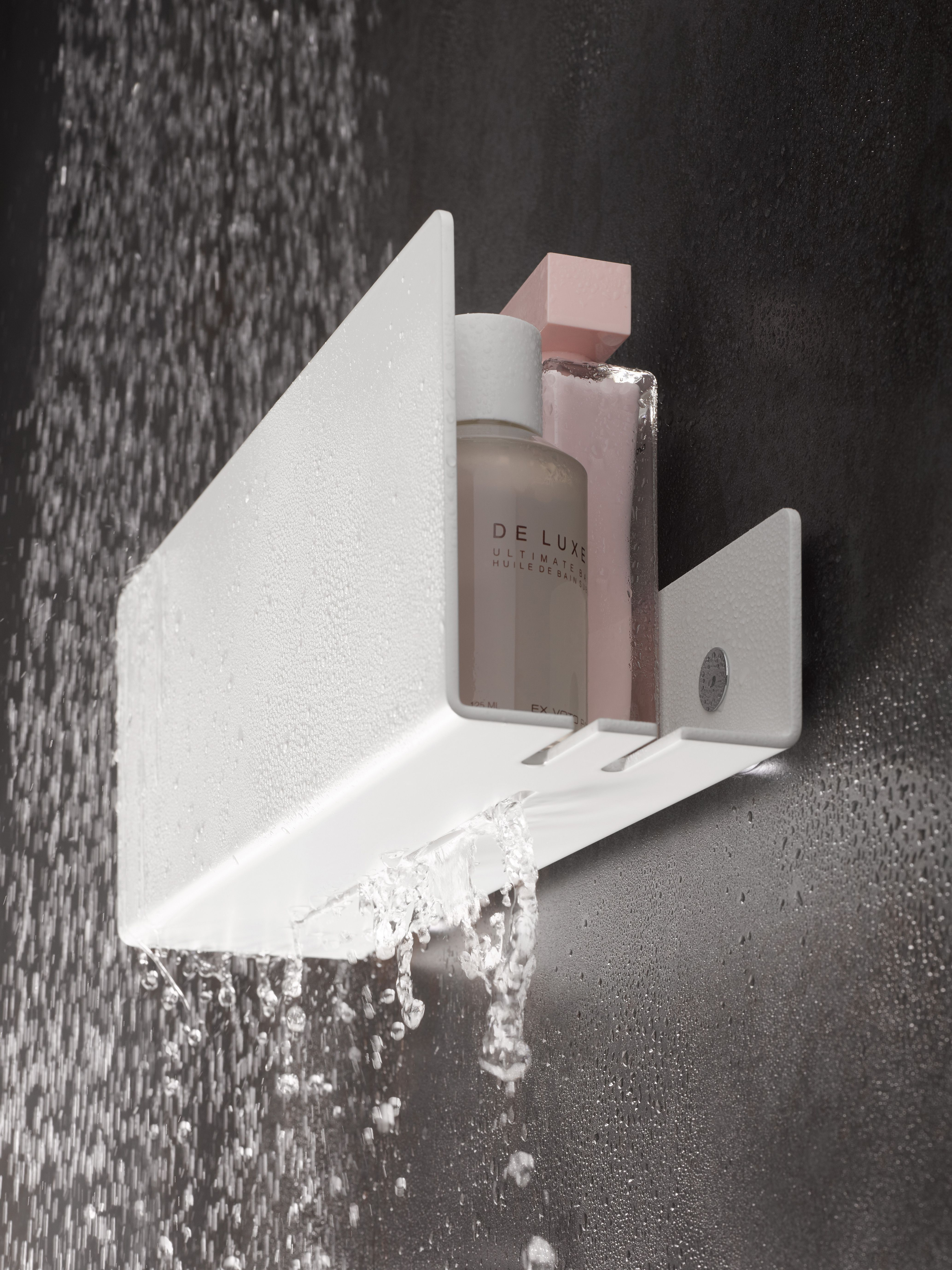 KEUCO shower shelves For the perfect blend between