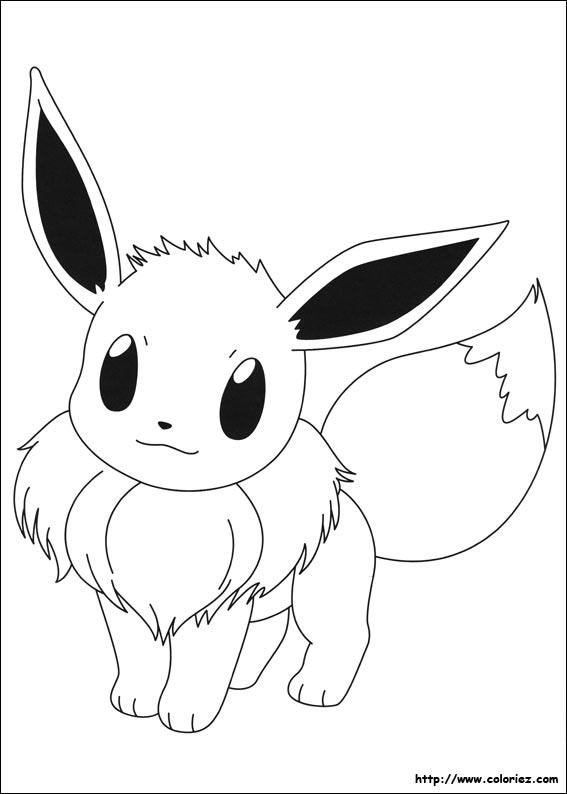 Coloriages Magiques Coloriage Pokemon Famille Evoli Pokemon Ausmalbilder Pokemon Zum Ausmalen Pokemon Zeichnen