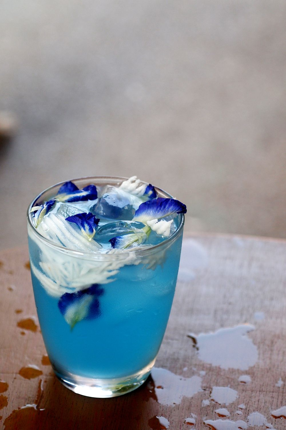 Butterfly Pea Coconut Juice Butterfly pea flower tea