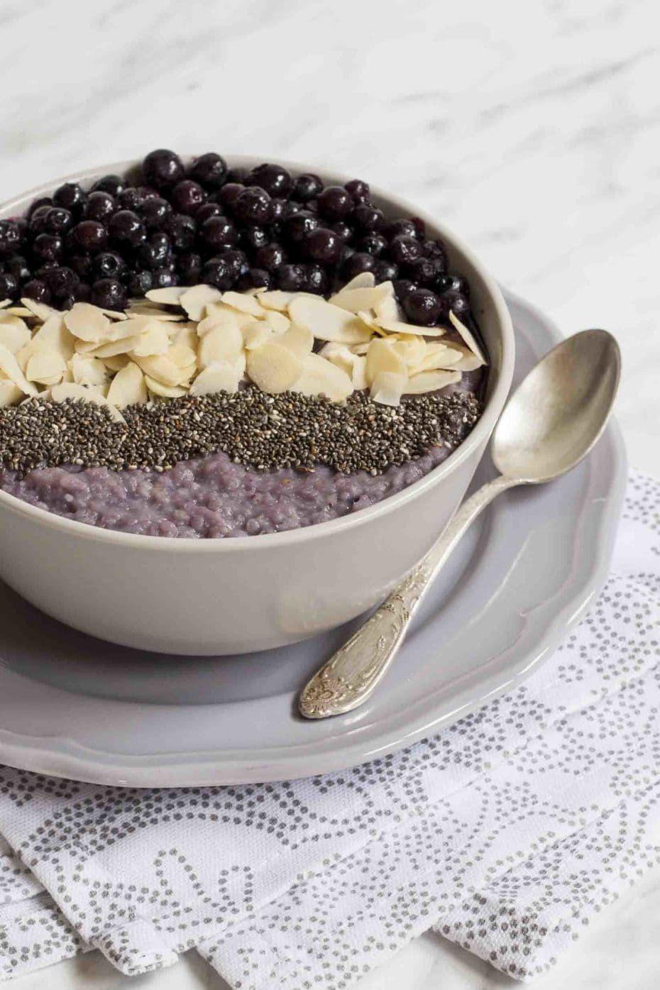 Blueberry millet porridge recipe in 2020 gluten free